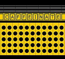 CAFFEINATE yellow by Lenka24