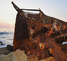 Dominator Wreck by Walt Conklin