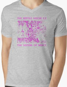 The Sisters Of Mercy - The Worlds End - The Reptile House Mens V-Neck T-Shirt