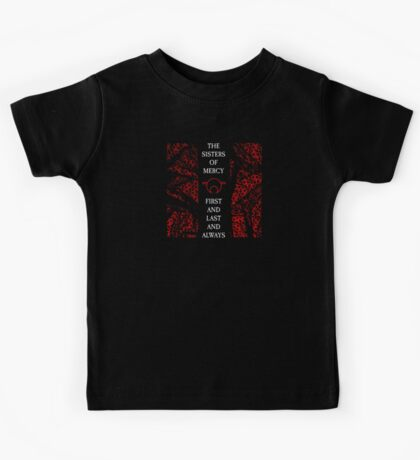 The Sisters Of Mercy - The Worlds End - First and Last and Always Kids Tee