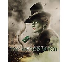 Movie Poster Style - Zelena / Rebecca Photographic Print