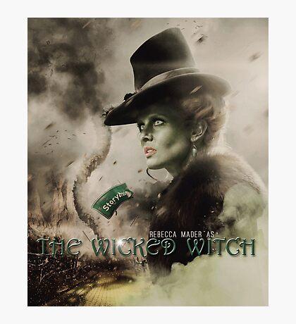 Movie Poster Style - Zelena / Rebecca Photographic Print