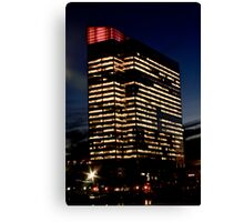 Pavonia Newport Office Building Canvas Print