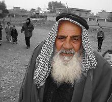 Iraqi Sheikh by Benjamin Sloma