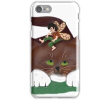 Fairy and Kitty in the Garden iPhone Case/Skin