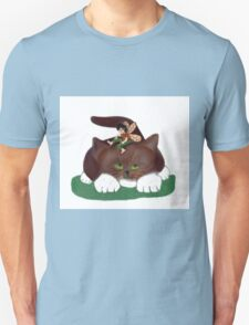 Fairy and Kitty in the Garden T-Shirt