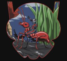 Scott Lang Crossing The Back Yard by Eman! Arts and Illustration