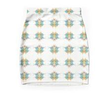 Splatter Mini Skirt