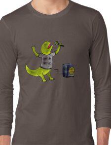 Karaoke Newt Long Sleeve T-Shirt