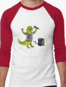 Karaoke Newt Men's Baseball ¾ T-Shirt