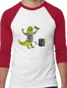 Karaoke Newt Men's Baseball ¾ T-Shirt
