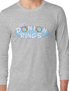 Donion Rings Long Sleeve T-Shirt