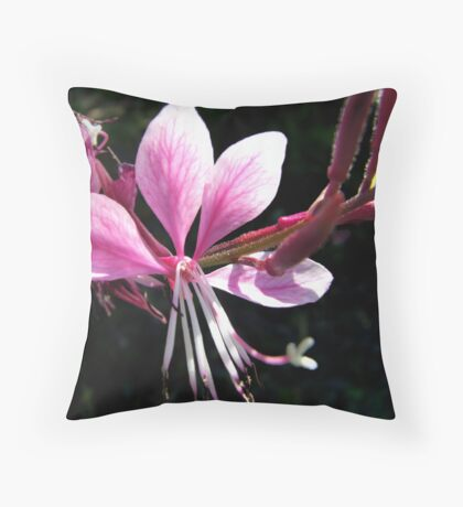 spring Flowers May Throw Pillow