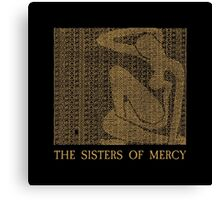 The Sisters Of Mercy - The Worlds End - Alice Canvas Print