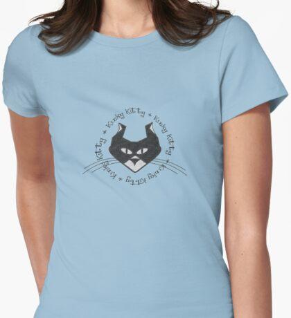KINKY KITTY - Kinky Face Womens Fitted T-Shirt