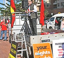 Workers United Will Never Be Defeated - Newcastle Trades Hall Council by Bernadette  Smith