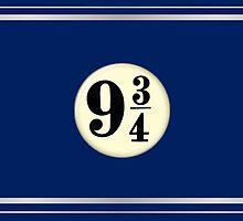 9 3/4 - Blue & Silver by Serdd