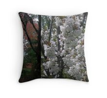 Autumn Spring Serenade Throw Pillow