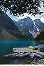 Bring on The Day - Moraine Lake by Barbara Burkhardt