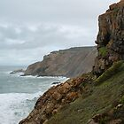 Cliffs of Mossel Bay by Kristiane Anderson