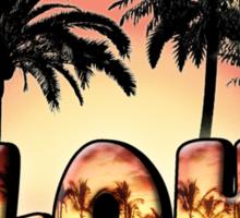 Aloha Sunset Sticker