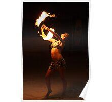 Fire Dance in Cebu Poster