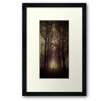 Darkness Calling Framed Print