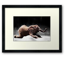 A Moments Rest Framed Print