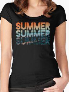 Summer Summer Summer Women's Fitted Scoop T-Shirt