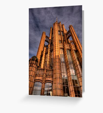 Manchester Unity Building 3 Greeting Card