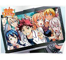 Anime: Shokugeki no Souma (Food Wars) Poster