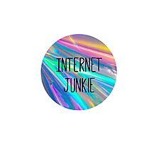 internet junkie Photographic Print