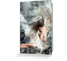 Angel of the Morning. Greeting Card