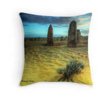 Desert Beauty, Nambung NP, WA Throw Pillow