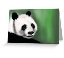 Panda Yang Guang  Greeting Card