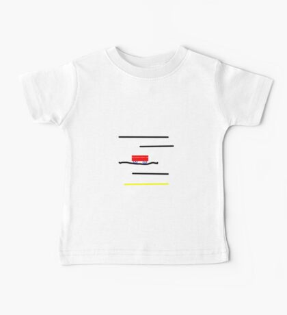 Little RED wagon? Baby Tee