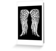 Daryl Dixon Angel Wings - The Walking Dead (dirty) Greeting Card