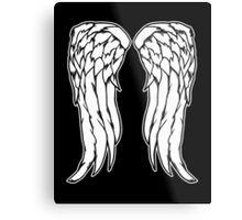 Daryl Dixon Angel Wings - The Walking Dead Metal Print