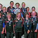 Canterbury Year 7 Girls Cross Country Team 2009 by John Brotheridge