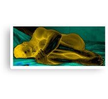 Abel Golden Canvas Print