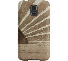 Sepia Sunset original painting Samsung Galaxy Case/Skin