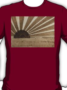 Sepia Sunset original painting T-Shirt