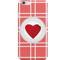 Serve Your Heart iPhone Case/Skin
