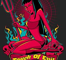 Devil Pin-Up Girl - Touch of evil by fatlines