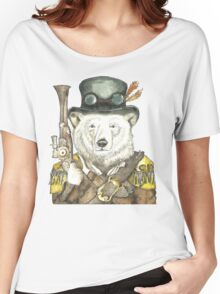 Polar Bear Warden Women's Relaxed Fit T-Shirt