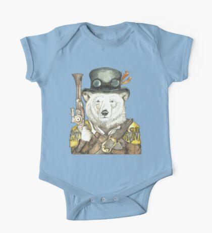 Polar Bear Warden One Piece - Short Sleeve