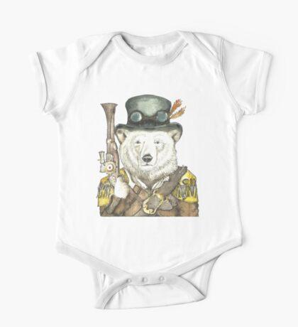 Polar Bear Warden One Piece - Short Sleeve