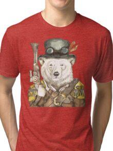 Polar Bear Warden Tri-blend T-Shirt