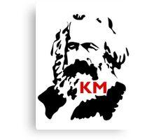 KARL MARX COMMUNIST Canvas Print