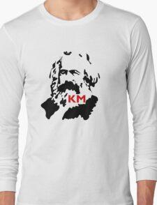 KARL MARX COMMUNIST Long Sleeve T-Shirt